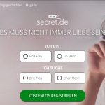Casual Dating bei Secret.de