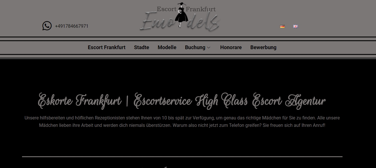 Escort Frankfurt - Emodels-Escort.com